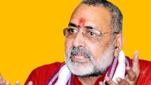 Denied Nawada ticket, Giriraj Singh says self-respect hurt