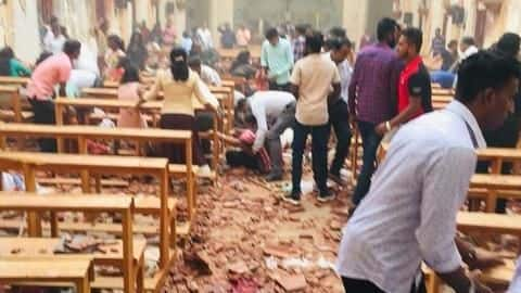 Sri Lanka explosions: 80 believed injured in blasts at two churches