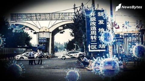 Parts of Beijing locked down due to fresh coronavirus cases
