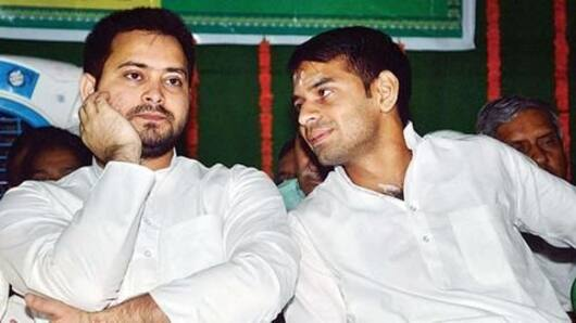 Tej says he is second Lalu Prasad Yadav