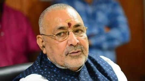 Suicide bombers being trained at Shaheen Bagh: BJP's Giriraj Singh
