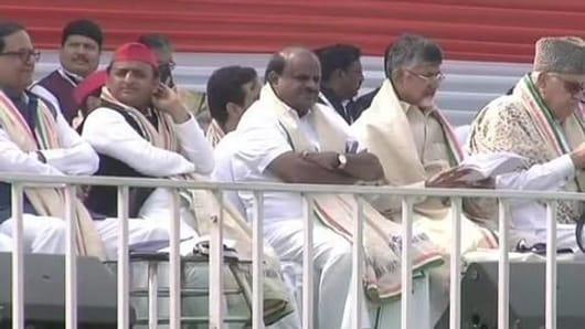 Mega opposition rally in Kolkata: Who said what