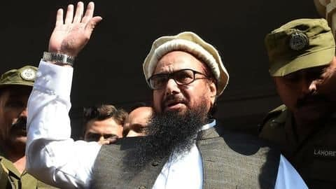 Hafiz Saeed's arrest made no difference earlier: US slams Pakistan