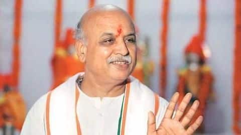 Pravin Togadia announces new party, will contest Lok Sabha elections