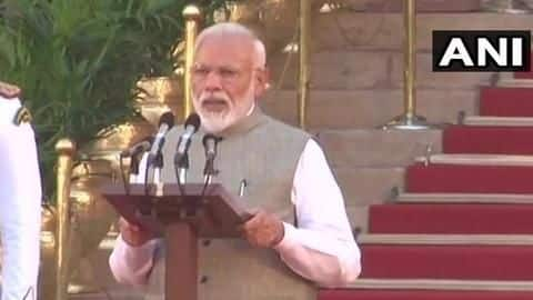 Narendra Modi takes oath as 15th Prime Minister: Details here