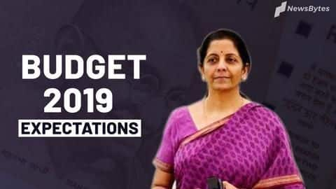 Union Budget 2019: What India expects from Nirmala Sitharaman
