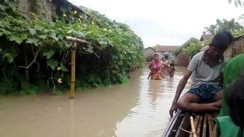 Assam floods: 20 dead, 52 lakh affected; Centre releases funds