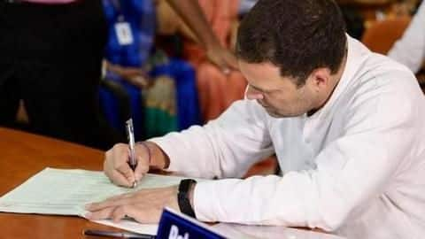 RaGa doesn't own a car, has assets worth Rs. 15.88cr
