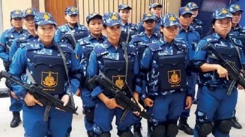 Delhi's all-women SWAT team to combat terrorism