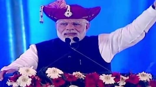 Narendra Modi speaks on mega opposition rally