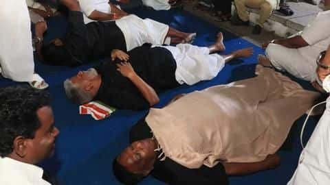 Puducherry CM sleeps outside L-G Kiran Bedi's house: Here's why