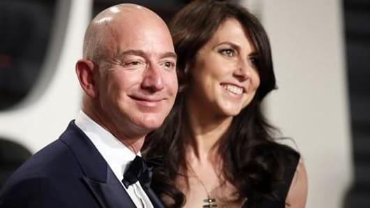 Amazon Boss Jeff Bezos is divorcing wife Mackenzie