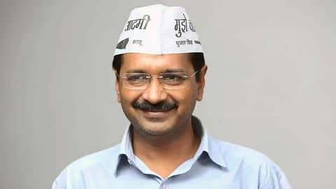 AAP congratulates Delhi because their 'CM works'. Narcissism level= 100