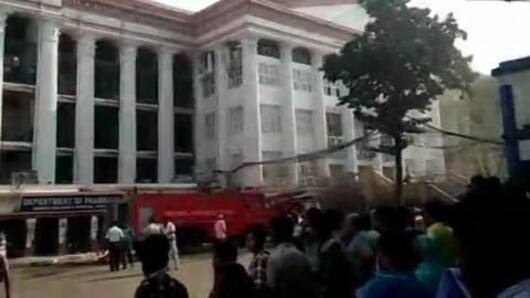 Kolkata: Massive fire breaks out at medical college