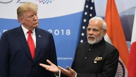 Trump claims Modi asked for mediation on Kashmir-issue, India denies