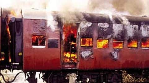 Railway coach burnt to recreate Godhra incident for Modi's biopic