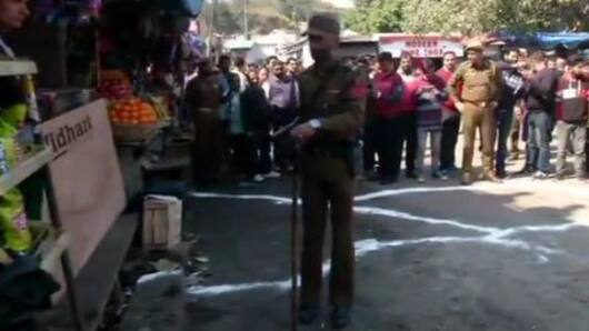 Grenade attack at Jammu bus stand, several injured