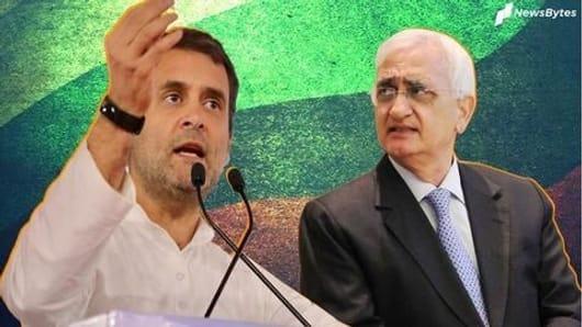 Rahul Gandhi walking away hurt Congress: Salman Khurshid