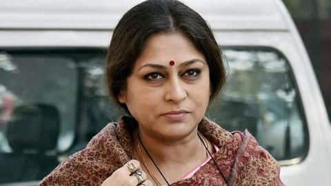 BJP MP Roopa Ganguly's 'drunk' son rams car, arrested