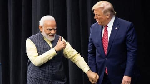 Trump eyeing crowd of millions; Modi promises memorable welcome
