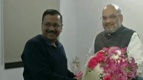 Kejriwal meets Shah, Shaheen Bagh didn't come up during talks