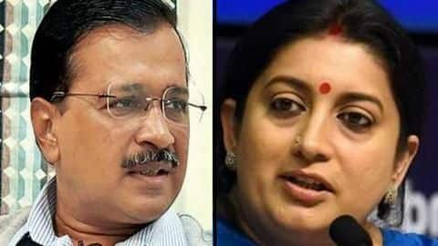 #Elections2020: Kejriwal's advice for women on polling day miffs Irani