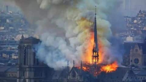 Notre-Dame fire: Design of 850-year-old cathedral made firefighters' job difficult