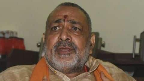 BJP's Giriraj Singh is concerned that Indians eat beef abroad