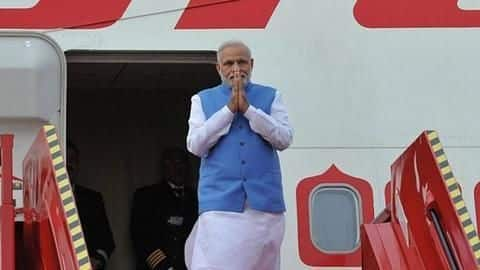 Government spent over Rs. 2,021cr on PM Modi's foreign trips