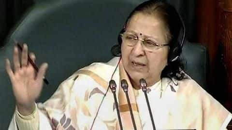 About women-safety, Sumitra Mahajan says media reports focus on negativity