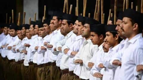 Congress' promise in MP: Won't allow RSS-shakhas in government buildings
