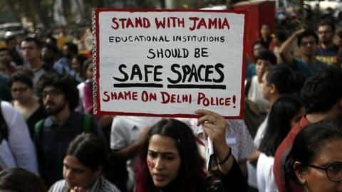 Footage shows cops beating Jamia students, but leaves questions unanswered