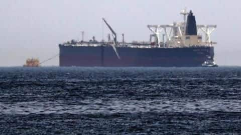 Iranian oil-tanker hit by missiles near Saudi, catches fire: Report