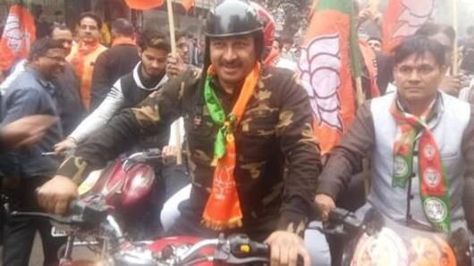 Manoj Tiwari gets flak for wearing military uniform