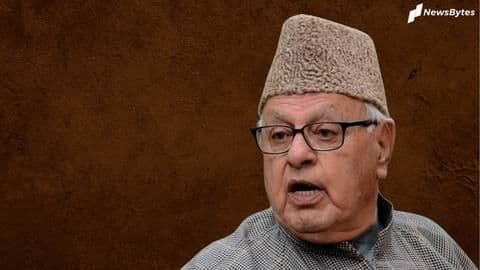 J&K: Farooq Abdullah released from detention after 7 months