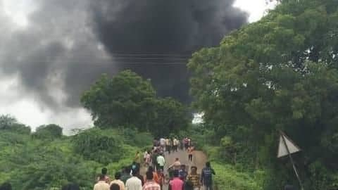 Maharashtra: Explosion in chemical factory kills 12, injures 50