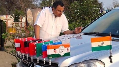 Will bring bad name: Congress leader opposes Karti Chidambaram's candidature