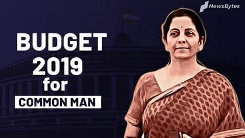Union Budget 2019: What does it mean for common man?