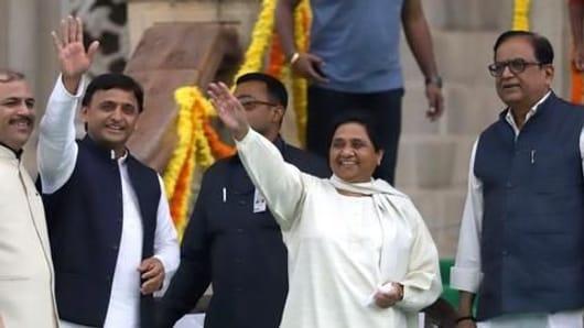 Akhilesh Yadav, Mayawati and a meeting in Delhi