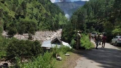Uttarakhand: Helicopter carrying flood-relief material crashes, 3 dead