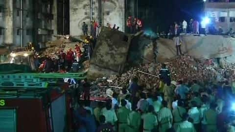 Ahmedabad: Four-storey building collapses, 5 feared trapped, 6 injured