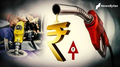 Prices of petrol and diesel hiked for tenth straight day