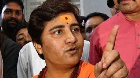 BJP asks Pragya Thakur to avoid controversial statements