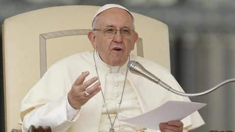 Pope tells gay priests to leave, if can't be celibate