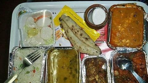 Now you can check food served by IRCTC