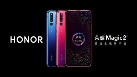 Honor Magic 2 with six cameras, Kirin 980 processor launched