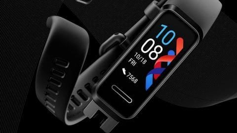 Huawei's latest fitness band can monitor heart-rate, detect sleep disorders