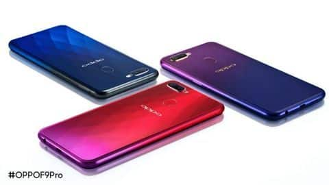 OPPO F9 Pro India launch today: All details here