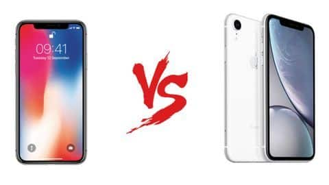 #SmartphonesFaceoff: Apple iPhone XR v/s iPhone X: Which is better?