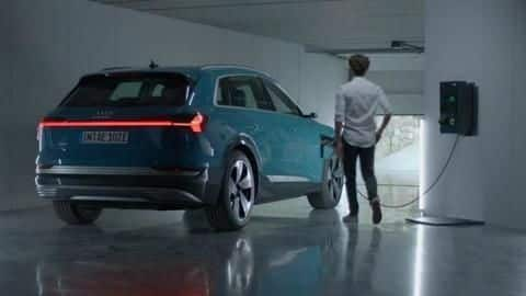 Audi's Vehicle-to-Home technology allows EVs to power our homes
